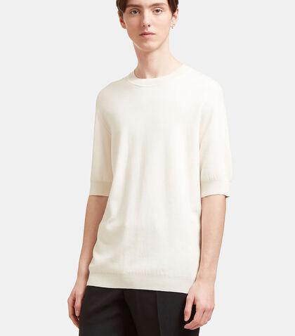 AIEZEN Cashmere and Silk Fine T-shirt