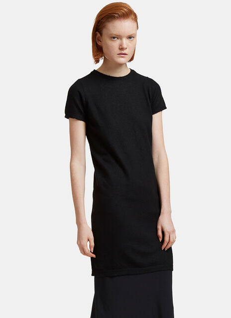 Maglia Long Cashmere Short Sleeved T-Shirt
