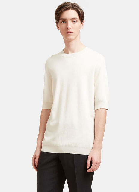 Cashmere and Silk Fine T-shirt