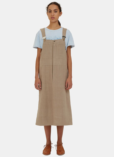 Folly Dungarees Dress