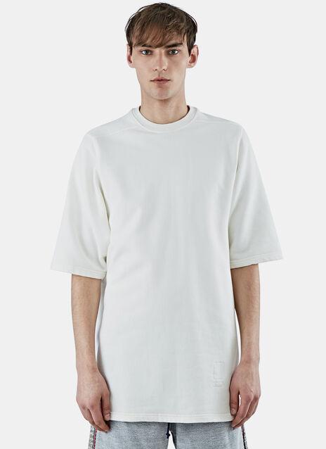 Short Sleeved Jumbo Sweater