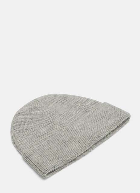 Zigzag Ribbed Beanie Hat