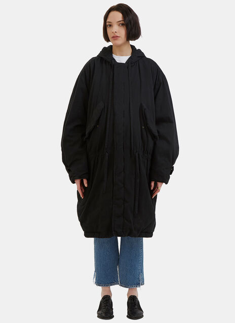Oversized Padded Parka Coat