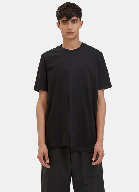 Bonded Insert Seam Crew Neck T-Shirt