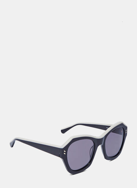 Oversized Angular Sunglasses