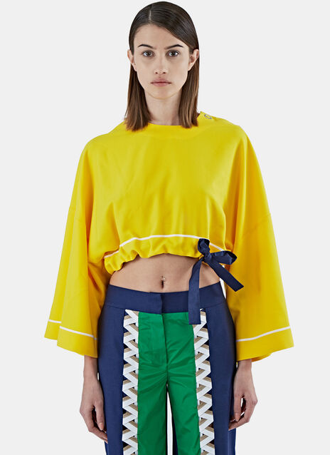 Boubou Cropped Top