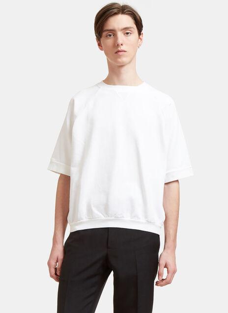 Aiezen Short Sleeved Sweatshirt - Dyed