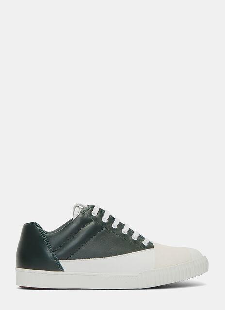 Bi-Colour Low-Top Sneakers