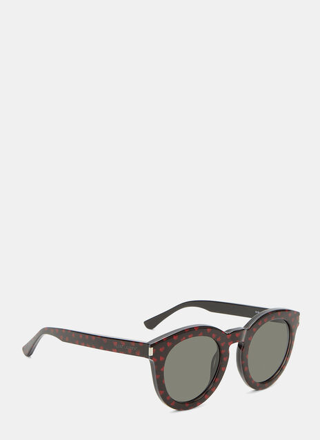 Glittered Heart Sunglasses