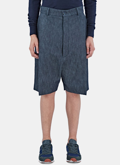 Femi Oversized Denim Board Shorts