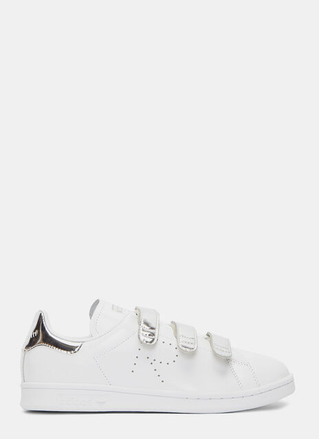 Metallic Velcro Strapped Stan Smith Comfort Sneakers
