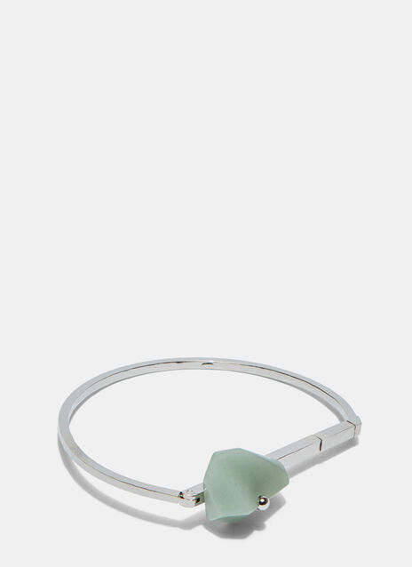 Silo Avent Green Aventurine Cuff Bangle