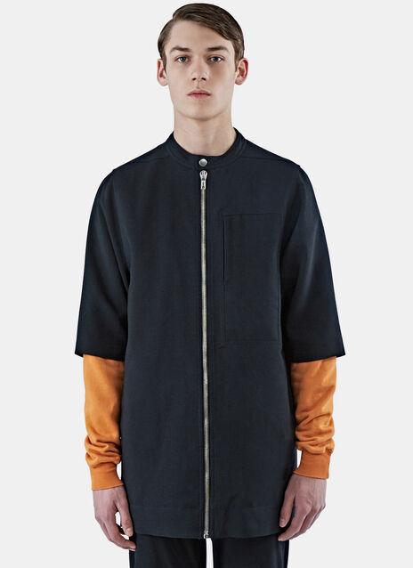 Oversized Short Sleeved Jacket