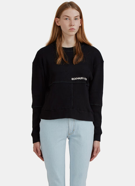 Lapped Branded Sweater