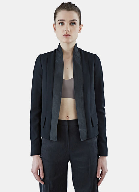Structured Blazer Jacket