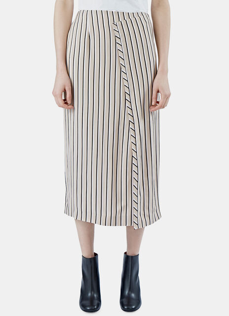 Karlis Striped Skirt