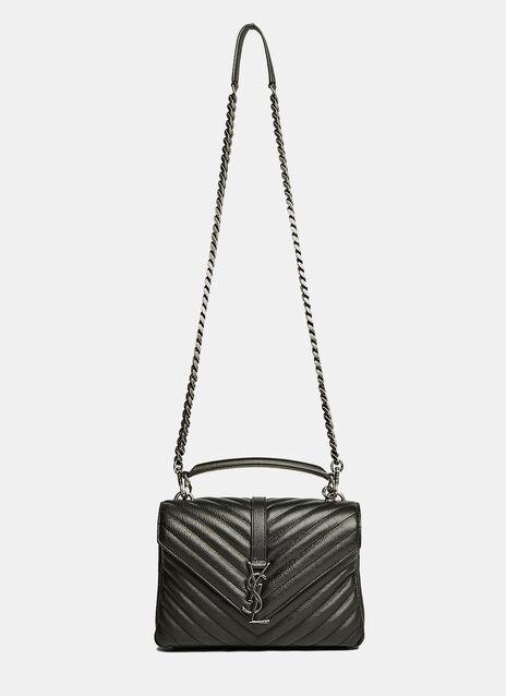 YSL Monogrammed Quilted Bag