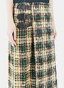 Grace Tweed Pleated Kilt Skirt