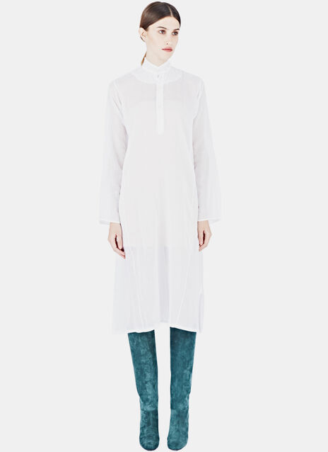 Alison Welsh Transparent Shirtdress