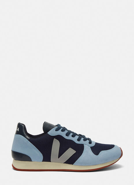 Holiday Low-Top Mesh and Suede Sneakers