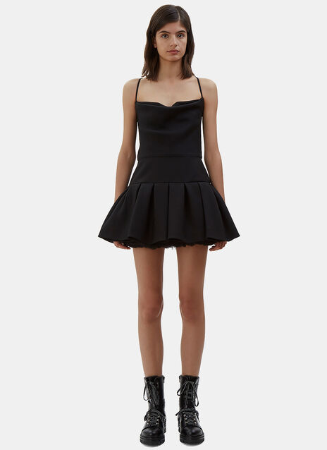 Halterneck Tutu Mini Dress