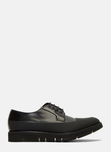 Aviator Blucher Rubberised Panel Derby Shoes