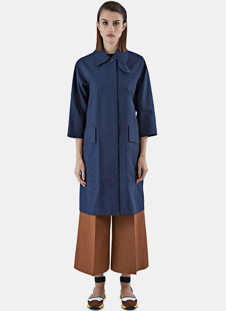Technical Long Trench Coat