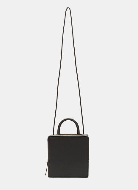 Leather Box Bag