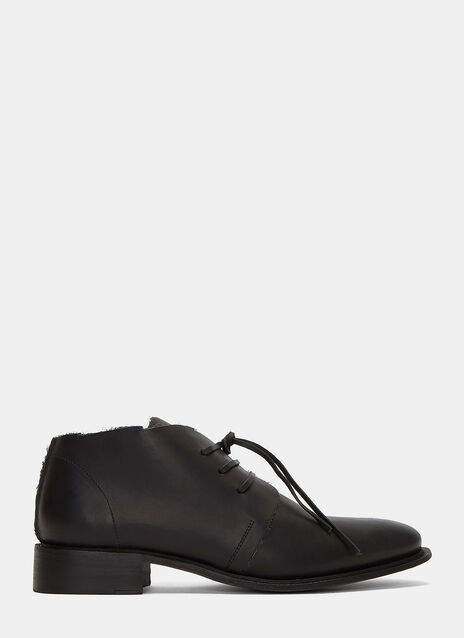 Memo Lace-Up Leather Boots