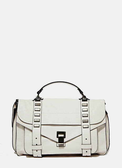 Proenza Schouler Ps1 Medium In White