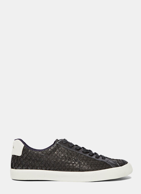 Esplar Low Leather Tilapia Havana Sneakers
