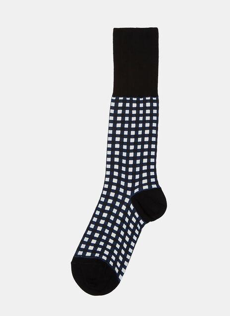 Vichy Jacquard Socks
