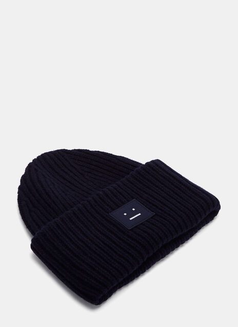 Pansy Wool Knit Hat