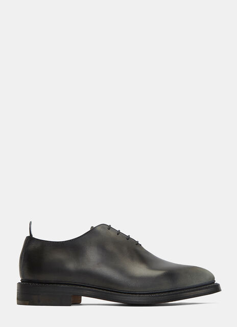 Distressed Lace-Up Dress Shoes