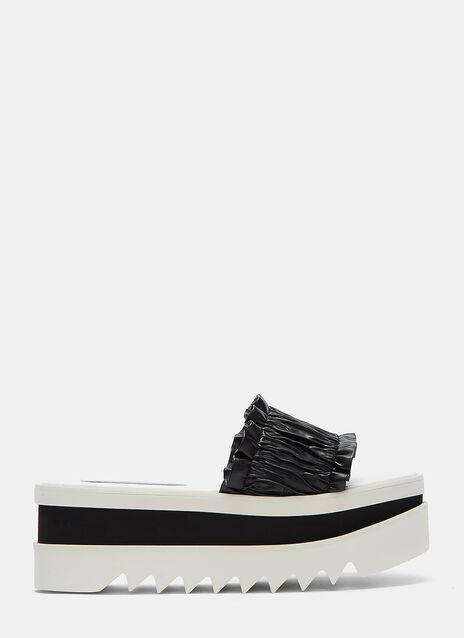 Pamir Frilled Platform Sandals