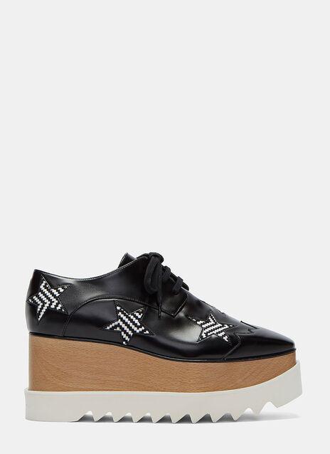 Elyse Woven Star Platform Shoes