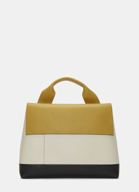 Colour-Blocked City Pod Handbag