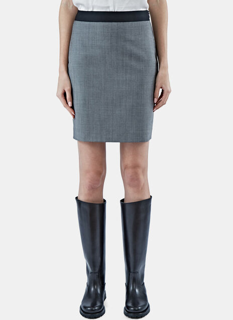 Short Suiting Pencil Skirt