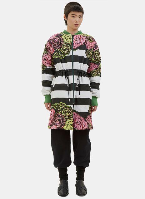 Printed Bomber Raincoat