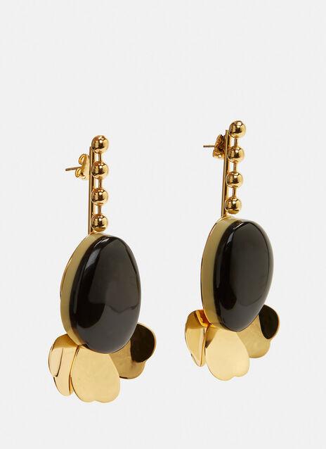 Drop Petal Earrings
