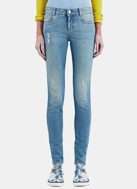 Slim Washed Jeans