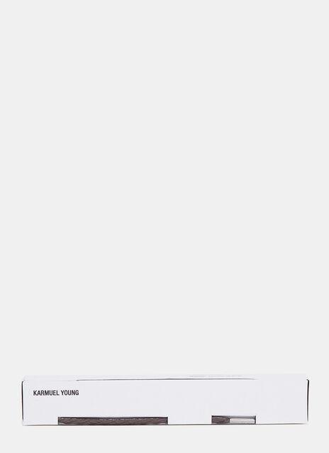 Karmuel Young 810mm Braune Einfache Tubular Schnürsenkel
