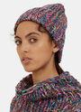 Garter Knit Beanie Hat