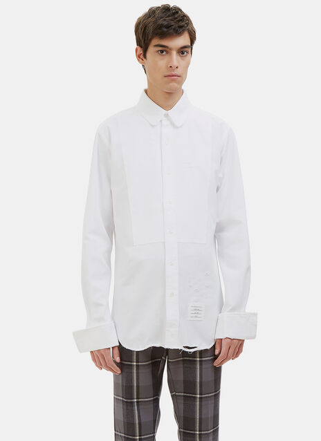 Distressed Tux Shirt