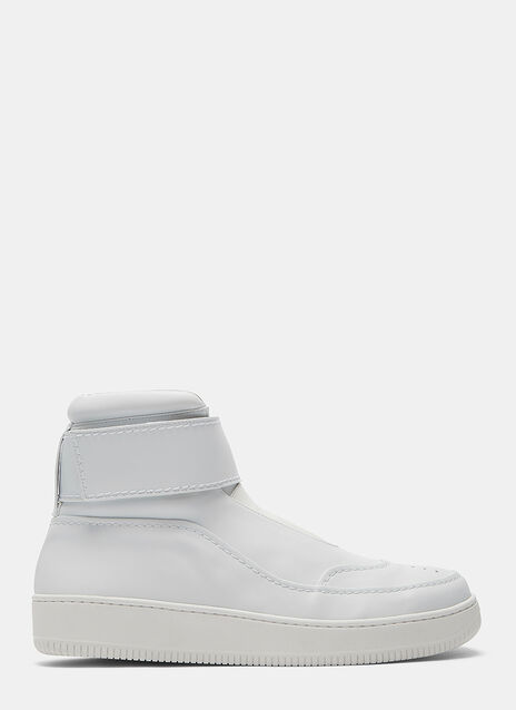 BASS Velcro Strap High-Top Sneakers