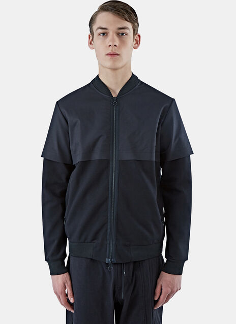 Zip-Up Bomber Sweater