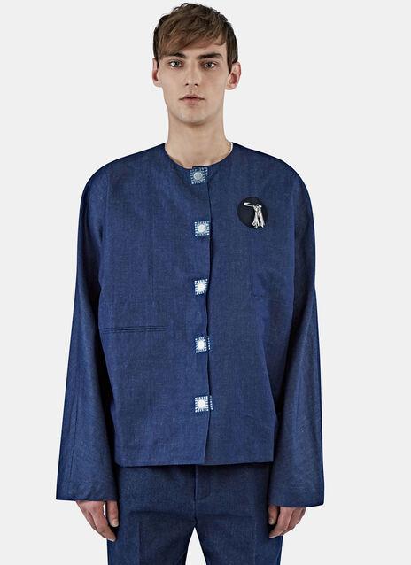 Denim Tool Patch Shirt