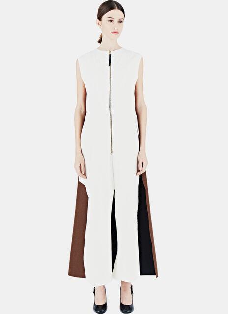 Long Bonded Sleeveless Dress