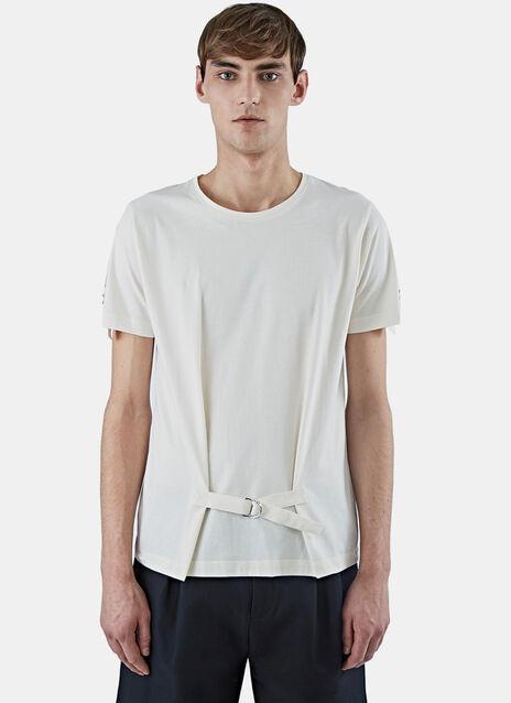Crew Neck Strap T-Shirt