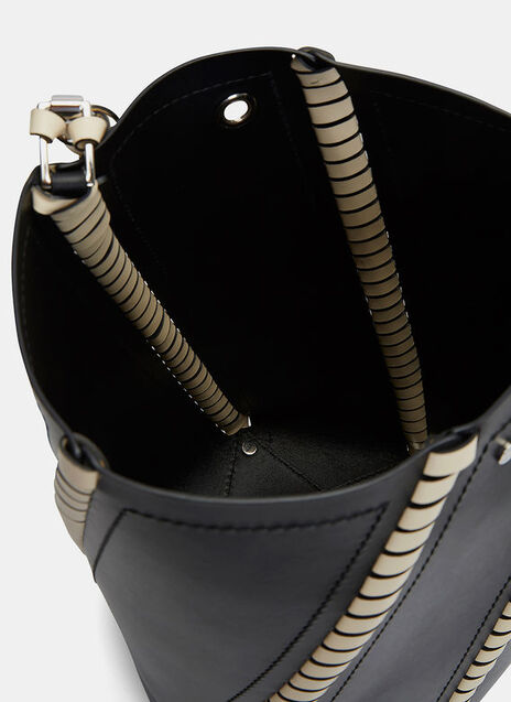Hava Whip-Stitched Bucket Bag